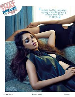 Aditi Rao Hydari looks stunniong for FHM Magazine Cover