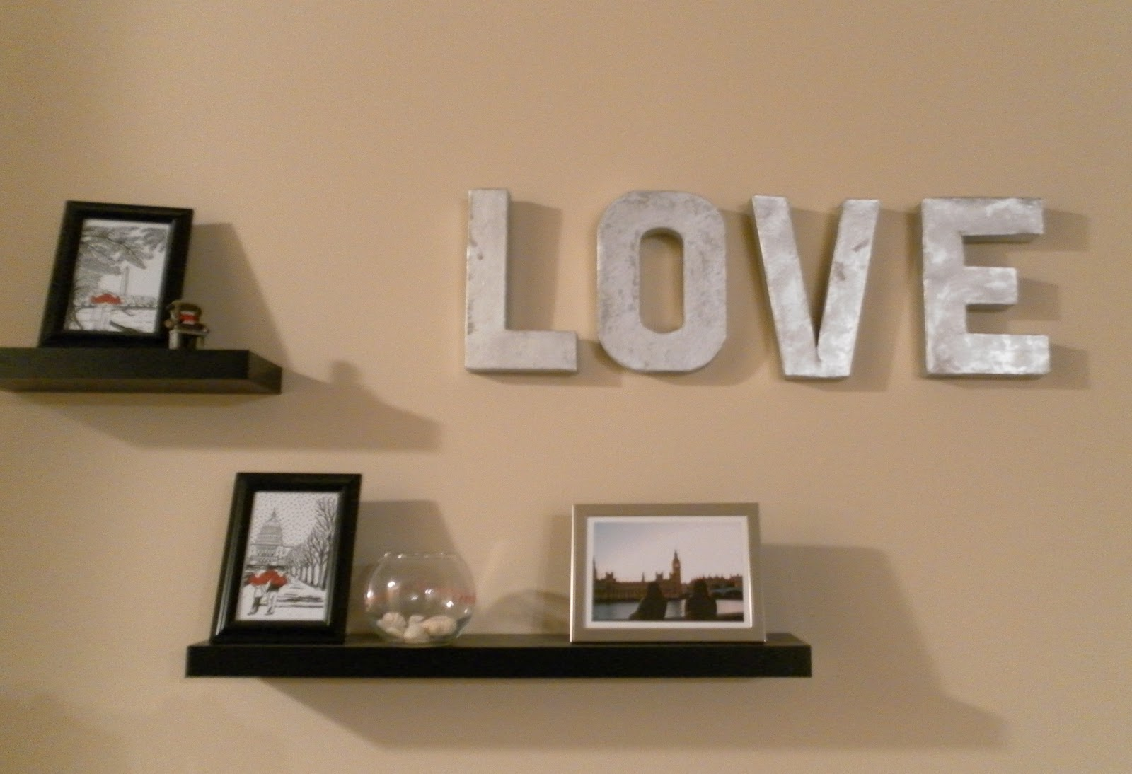 decorative letters for walls - Letter Decor