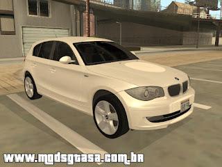 BMW 120i 2009 para grand theft auto