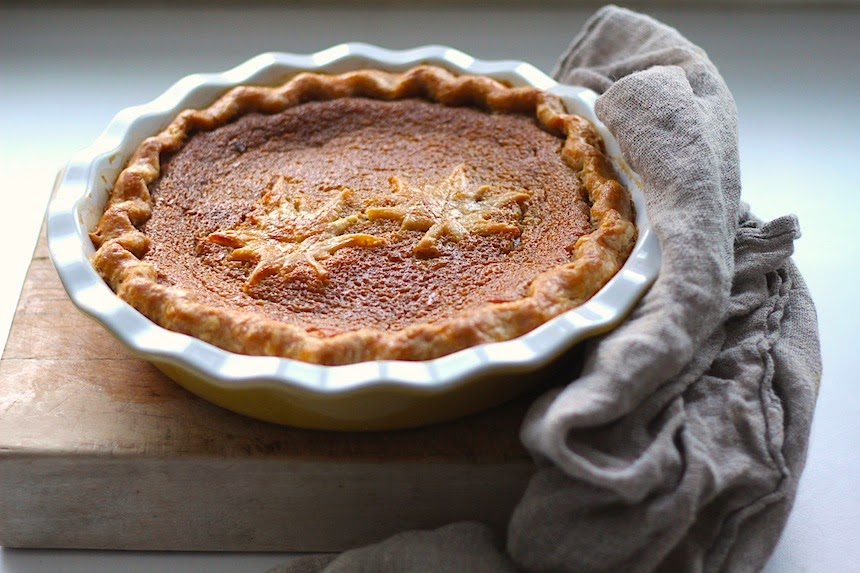 Kitchen Vignettes by Aubergine: Maple Syrup Pie