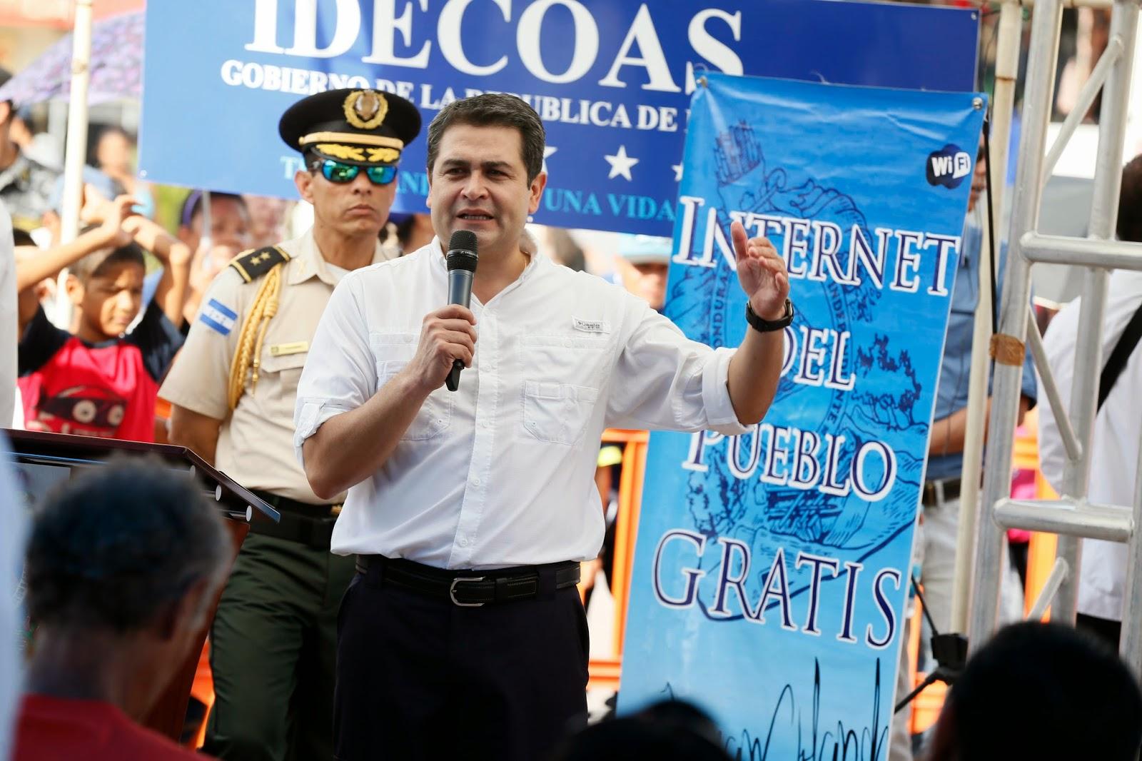 """""""Internet del Pueblo"""" llega a Juticalpa"""