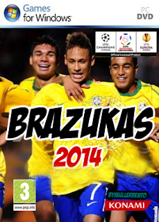 33437305462236461921 DOWNOAD   PATCH BRAZUKAS 2014 v.3.6 FULL   Pes 2011 + Crack