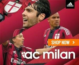 Jersey Grade Ori AC Milan Home