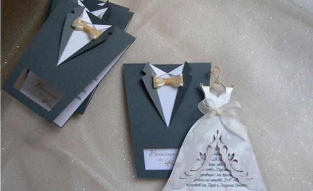 Undangan Pernikahan Pakaian Pengantin