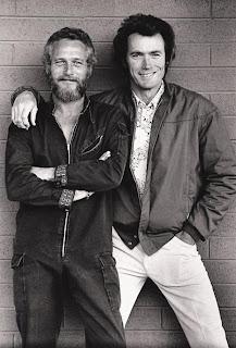 La postura amistosa de Paul Newman y Clint Eastwood