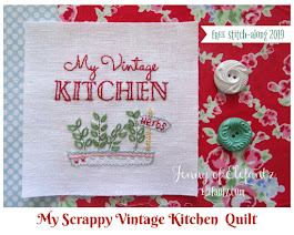Scrappy Vintage Kitchen - stitchalong 2019