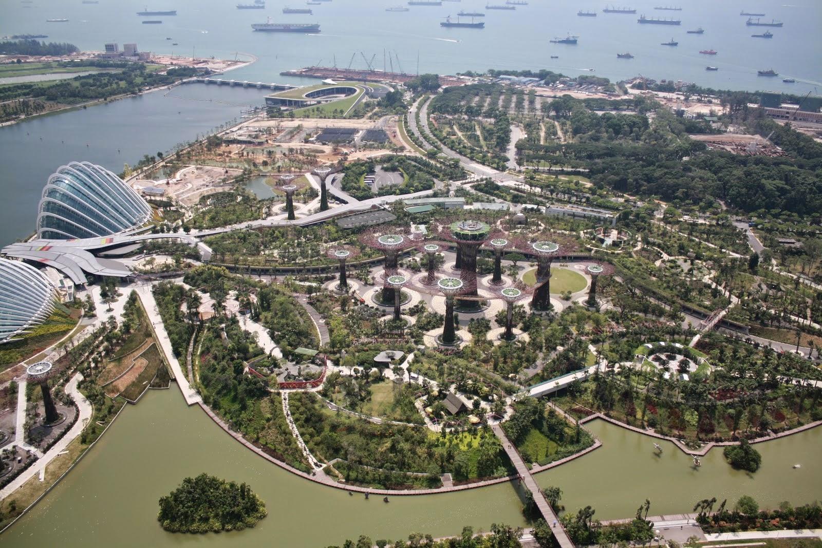 vistas a la ciudad de singapur