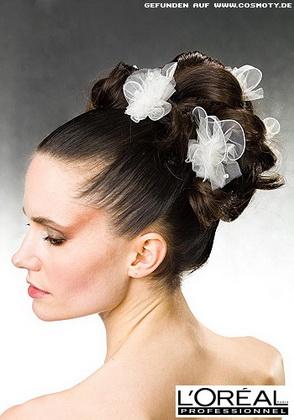 Весільні зачіски 2011