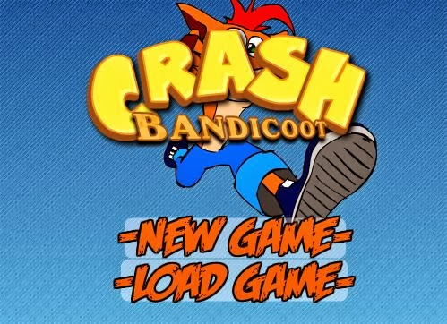 Crash Bandicoot em flash!