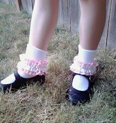 Ruffled Socks