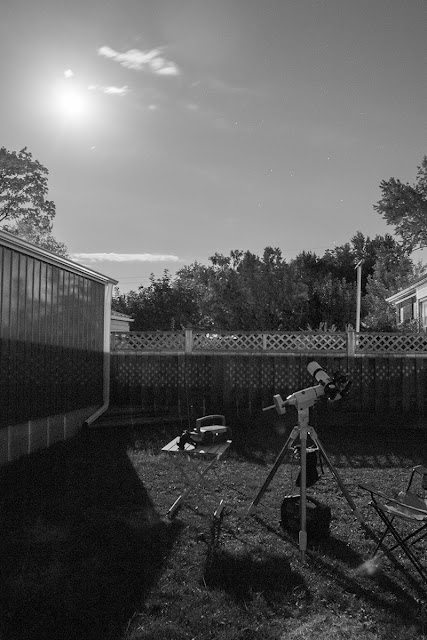 My backyard astrophotography gear