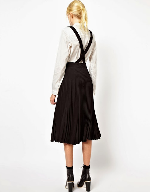 skirt with braces