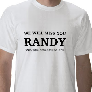 We will miss you Randy