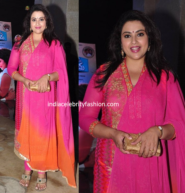 Meena in Simple Pink Salwar kameez