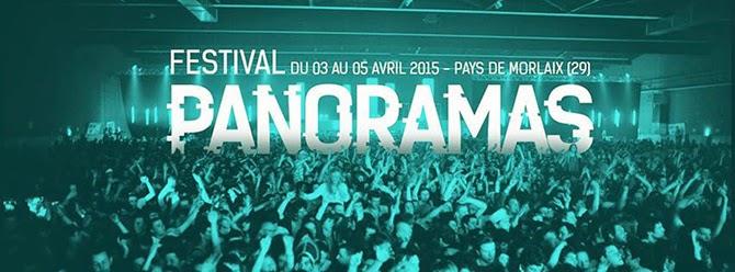 Festival Panoramas #18 - Du 3 au 5 Avril 2015 - Pays de Morlaix - Festival de musique actuel