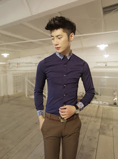 Model Kemeja Korea Pria Terbaru Bulan Febuari 2016