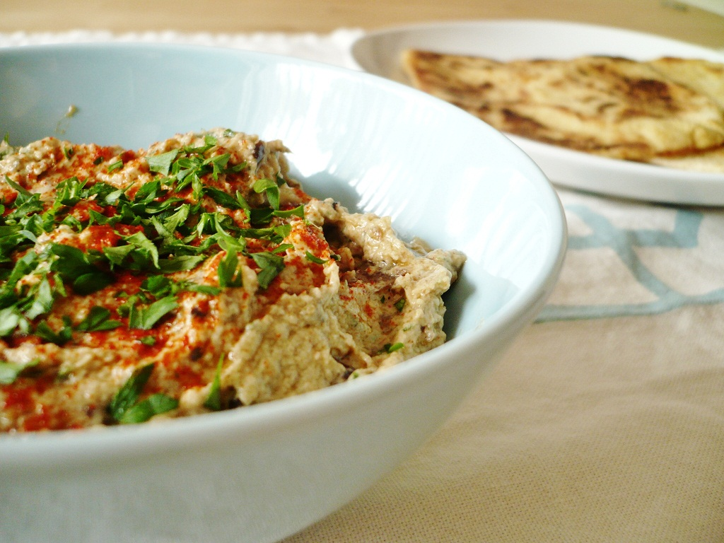 Baba Ghanoush & Kamut Flatbreads | sweet miscellany