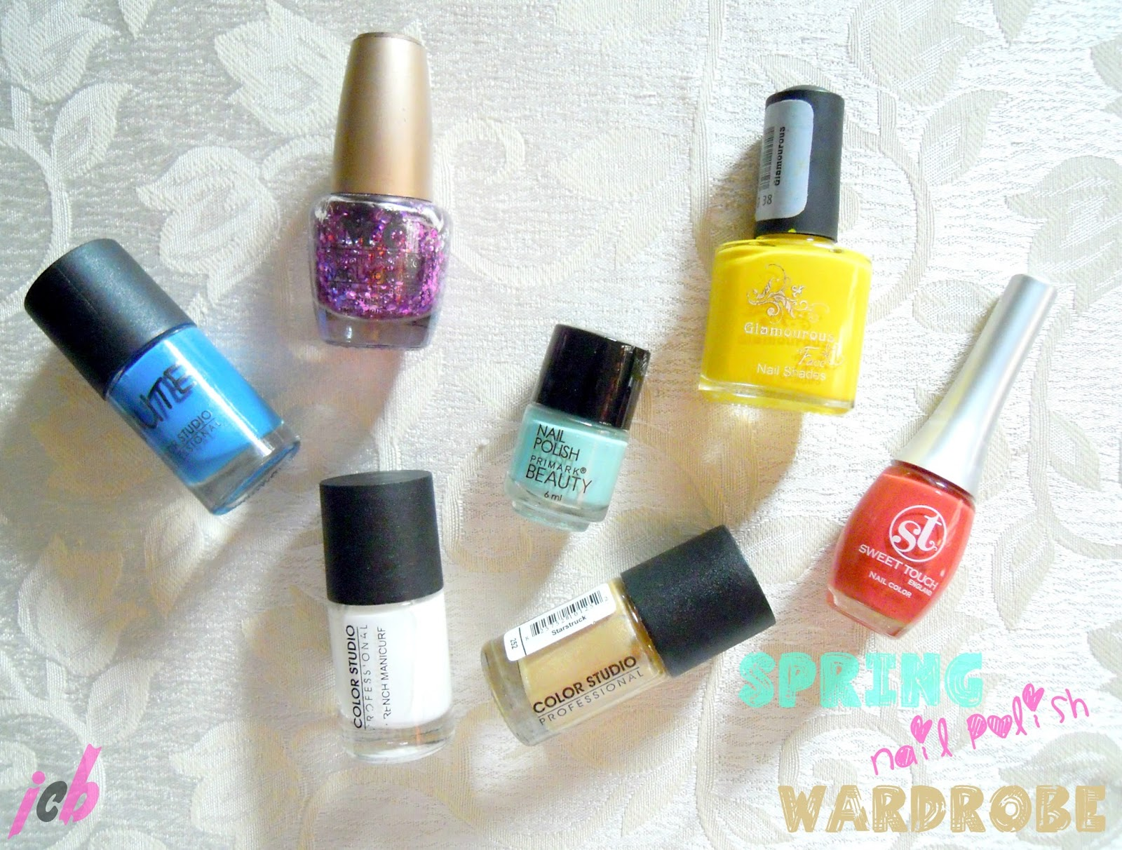 My Spring Nail Polish Wardrobe