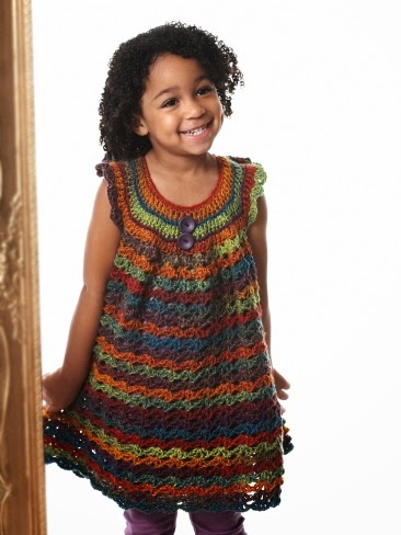 LITTLE GIRL DRESS CROCHET PATTERN | FREE PATTERNS