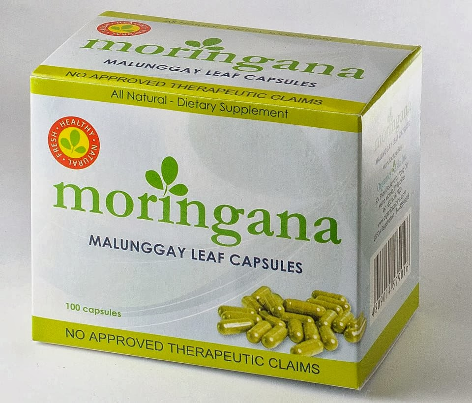 malunggay as vitamin capsule Moringana pure moringa leaf capsule is a whole food natural supplement, made from the pure, nutritious leaves of malunggay (moringa oleifera), a highly nutritious vegetable which is a good source of iron, calcium, natural vitamins, fiber and.
