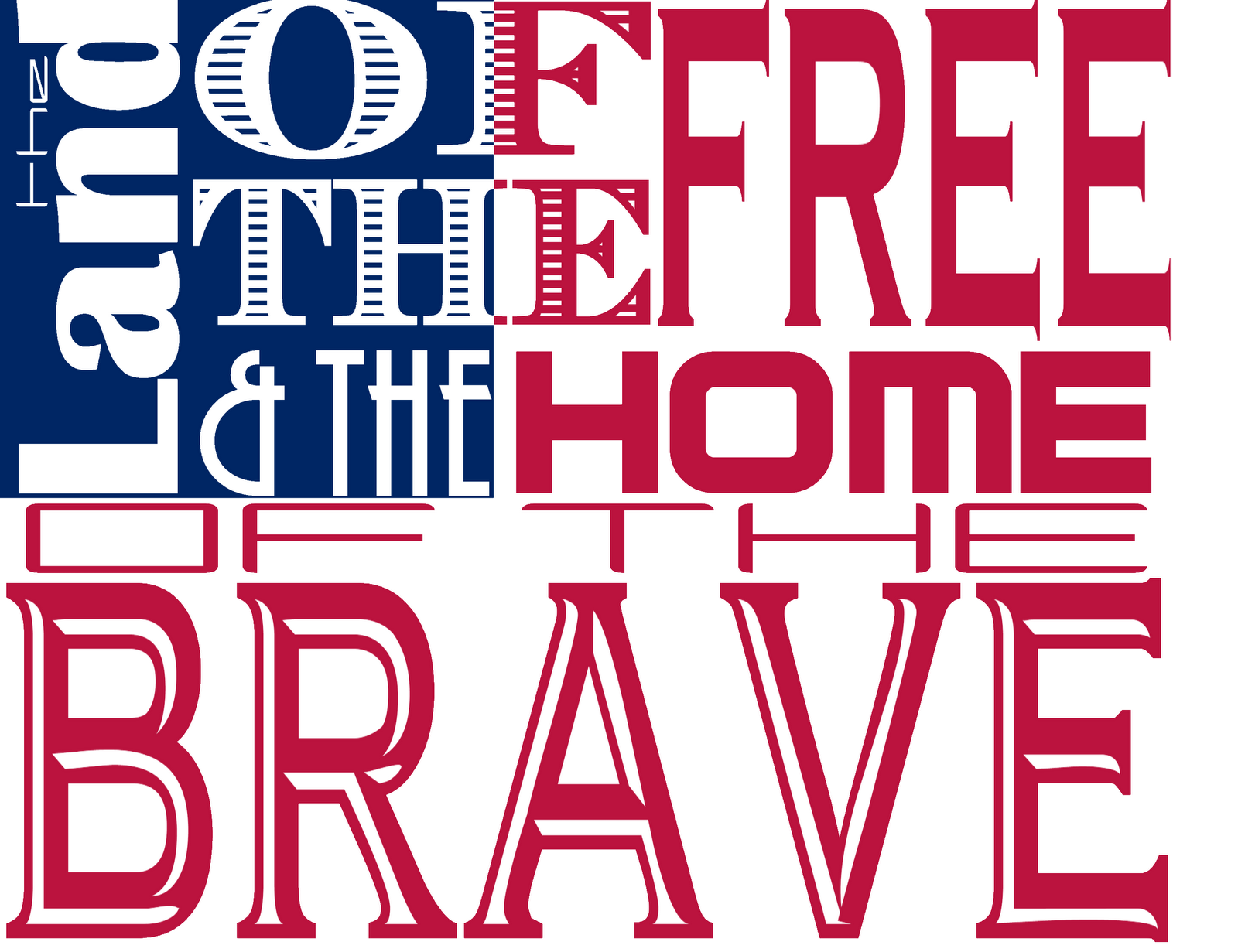 photograph regarding Printable Word Art identified as Mashed Potatoes and Crafts: Fourth of July printable phrase artwork