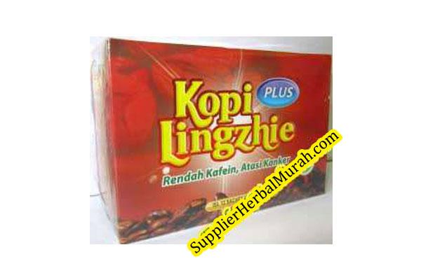 Kopi Plus Lingzhi (Rendah Kafein, Atasi Kanker)