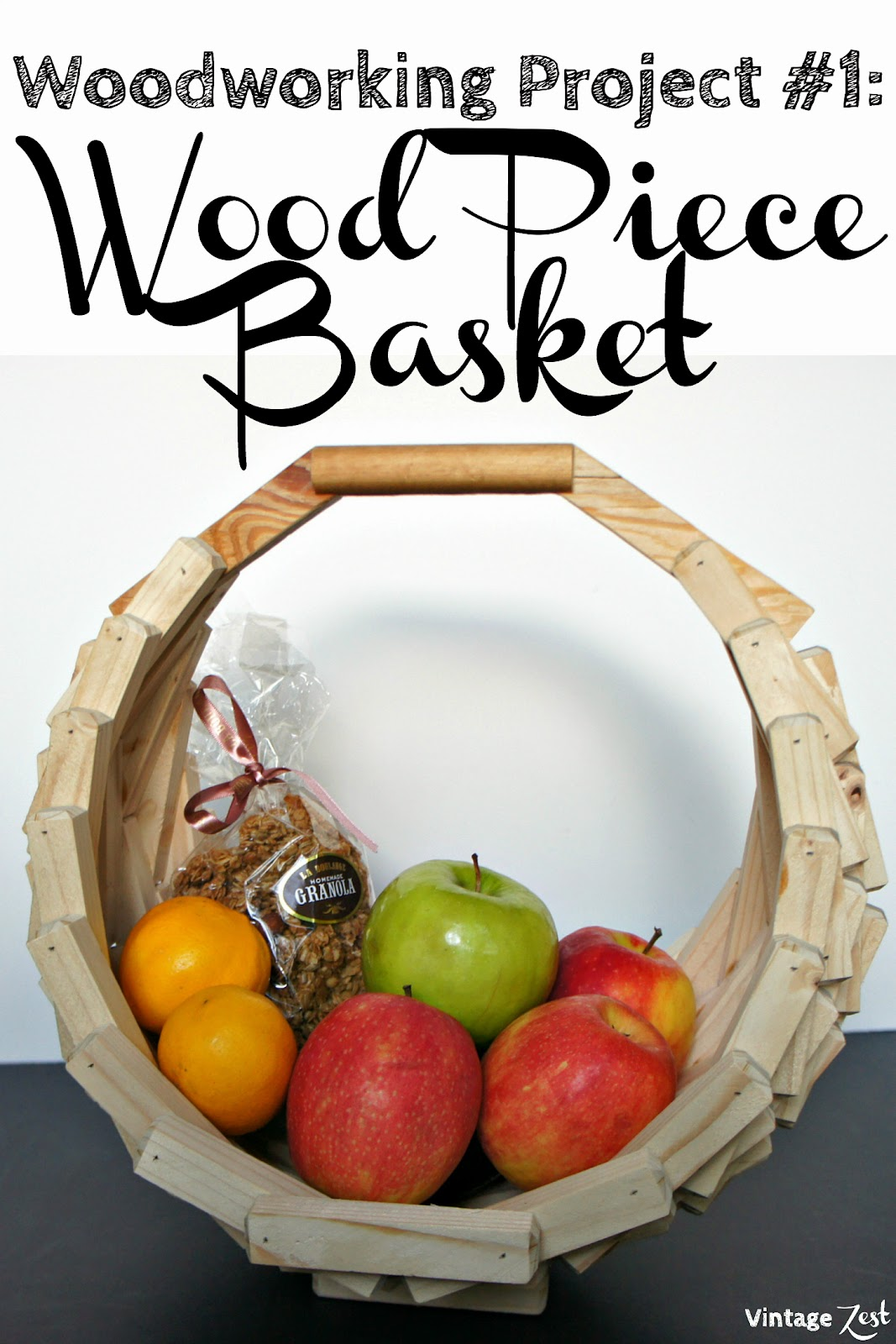 Wooden Basket (1st woodworking project!) on Diane's Vintage Zest!