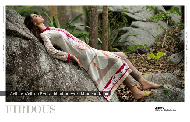 Firdous New Lawn 2015 For Summer