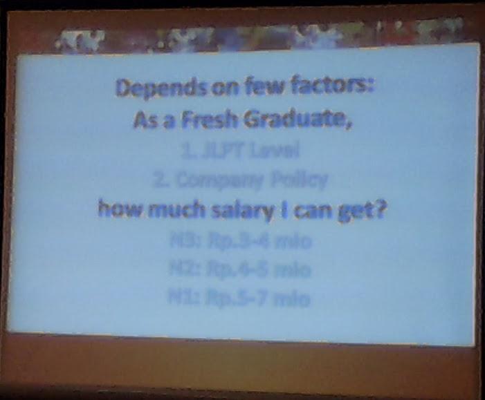 Berapa gaji seorang fresh graduate ?