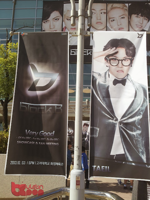 taeil block b showcase korea buletin kpop