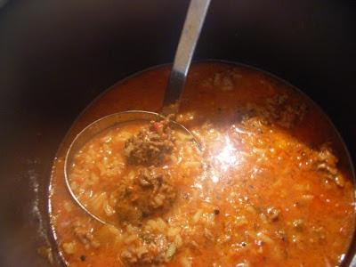 Lebanese Lamb Meatball And Rice Soup Recipe
