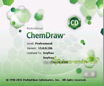PerkinElmer ChemDraw Professional 15