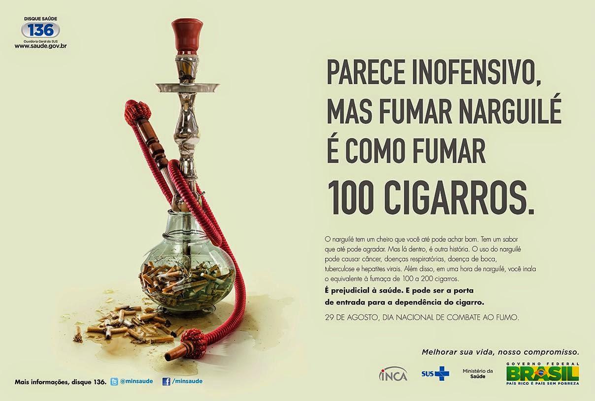 Os quadros que forçam para deixar de fumar