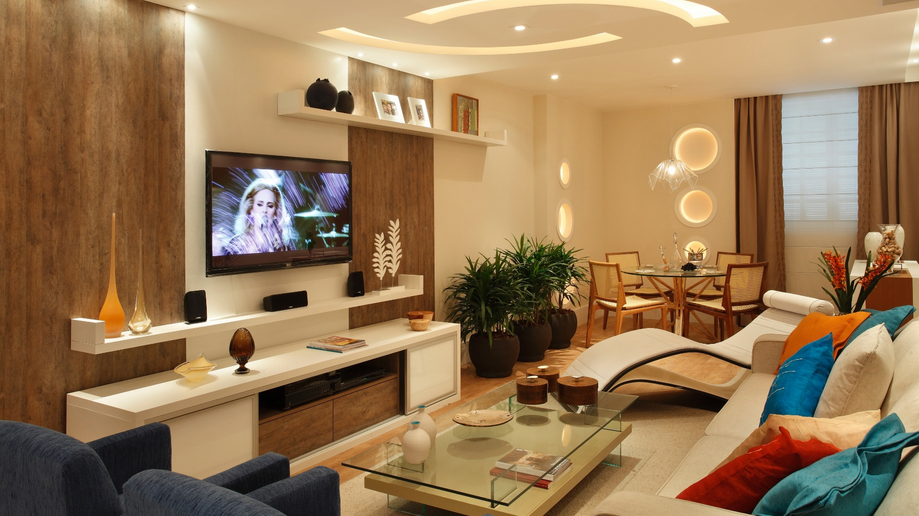 30 salas de jantar e estar integradas dicas e tend ncias for Sala de estar the sims 4