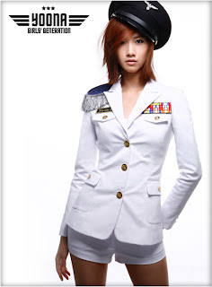 Im Yoona Korean Cute Girl Singer Beautiful Uniform Photo 5