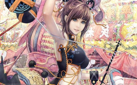 CG Art Wallpaper I Chen Lin Artwork 32