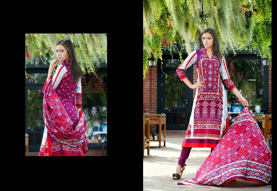 MonsoonLawn2014ByAl ZohaibTextile wwwfashionhuntworldblogspotcom 22 - Monsoon Lawn Spring/Summer Collection 2014