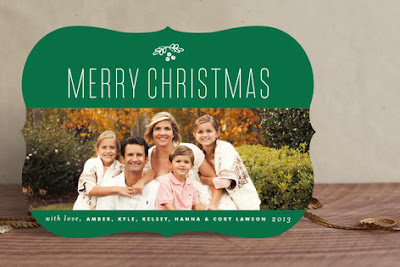 Minted Photo Holiday Card