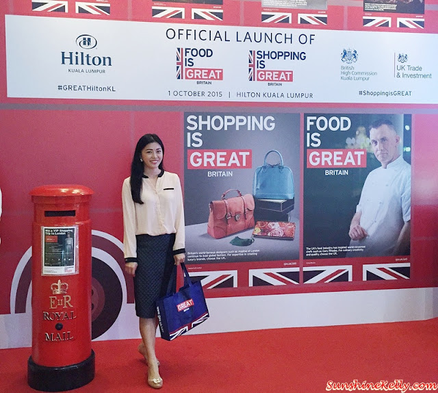 Shopping is GREAT, Food is GREAT, British High Commission, UK Trade & Investment, Hilton Hotel Kuala Lumpur, Her Excellency Vicki Treadell CMG MVO, Chef Warren Brown, VIP Shopping Trip to London, #GREATHiltonKL, #ShoppingisGREAT