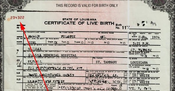 brian kelly's blog: updated: your birth certificate was made into a ...