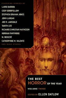 The Best Horror of the Year. Volume Three, 2011, copertina