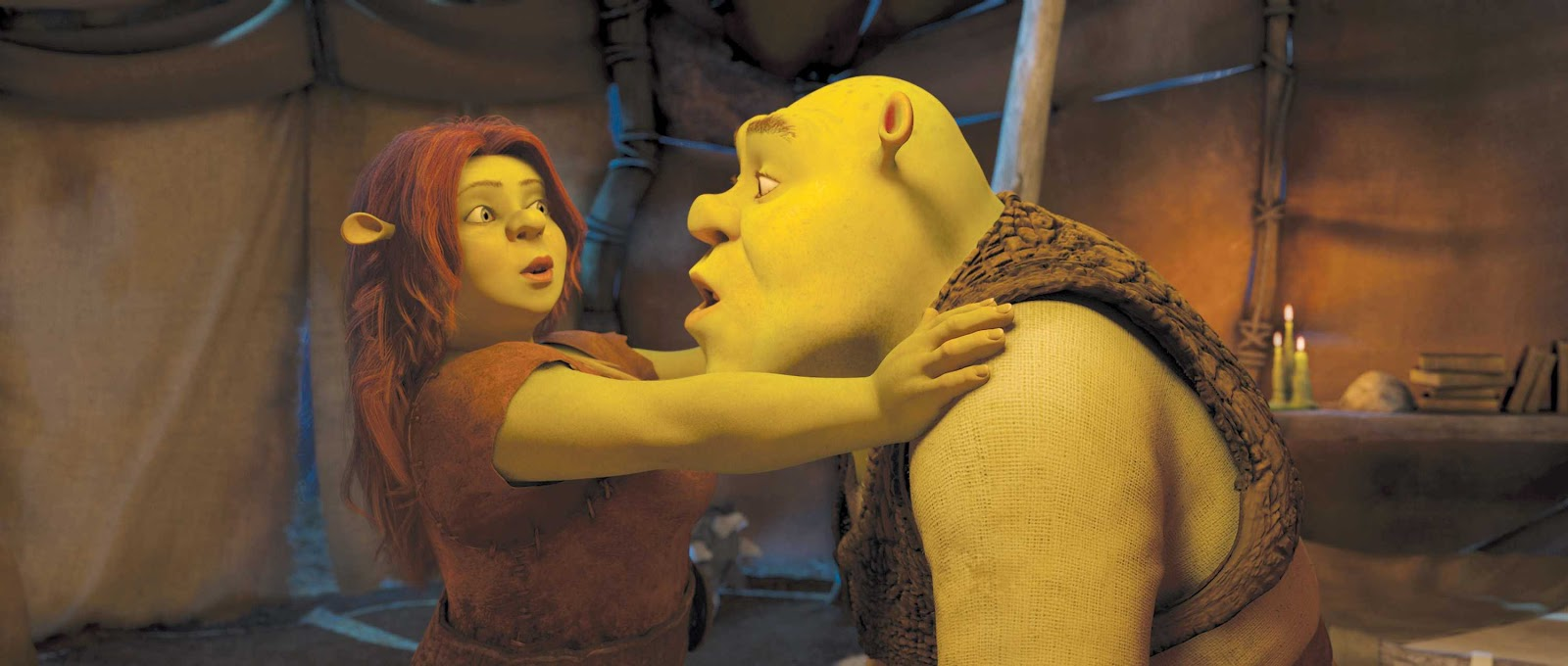 Shrek and Fiona in the alternate universe