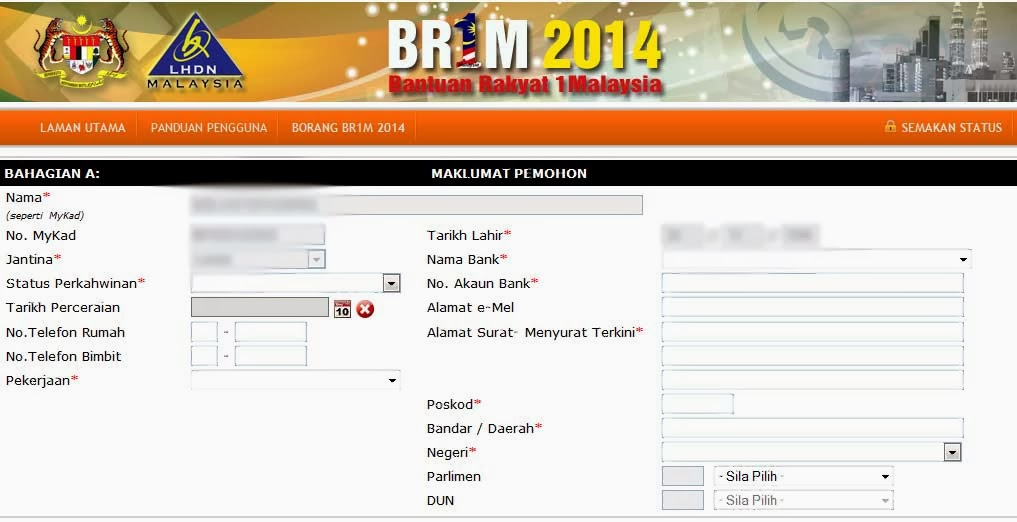 the br1m 2014 payment will be made on february 2014