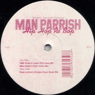 Man Parrish – Hip Hop Re Bop (2002, VLS, 192)