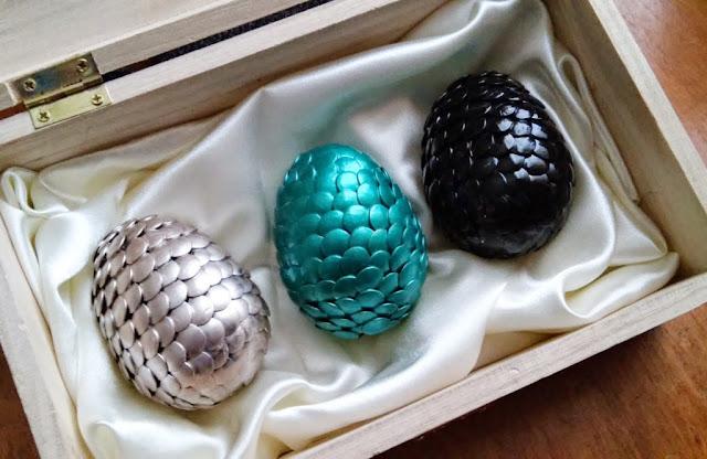 Ovos de Dragão de Game of Thrones