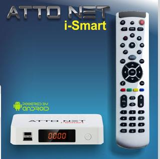 Atualizacao do receptor Freesatelital HD Atto Net I-Smart 31102015