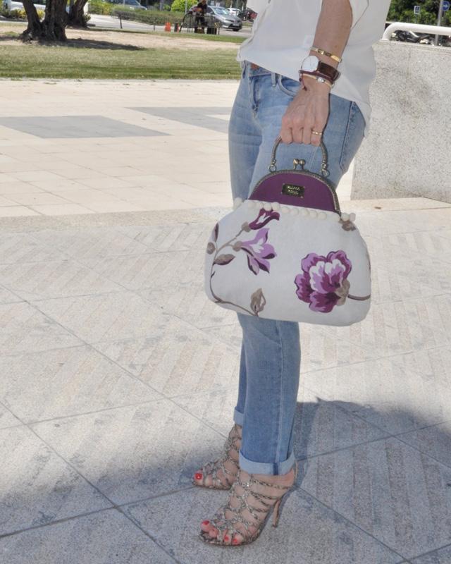 como combinar un bolso vintage / vintage bag