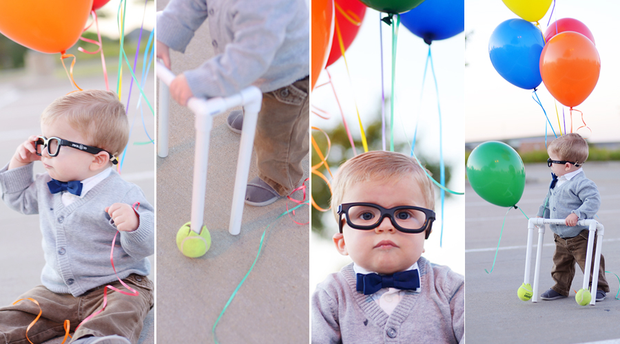 beyond belief  Might be known also as Real Life Baby Mr FredricksenCarl Fredricksen Costume