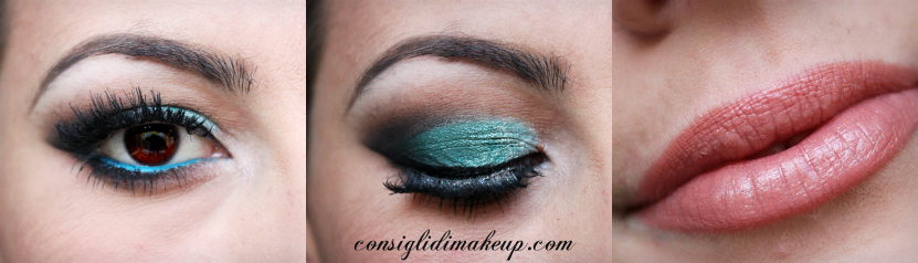 teal make up mac cosmetics