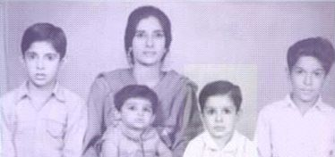 Childhood Picture of Wasim Akram